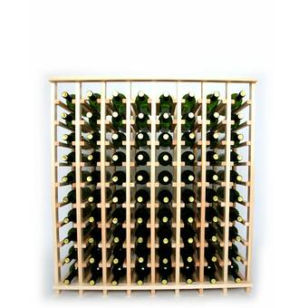 Red Barrel Studio Karnes Deluxe 120 Bottle Floor Wine Bottle Rack Wayfair