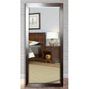 Wade Logan Beveled Brushed Nickel Wall Mirror