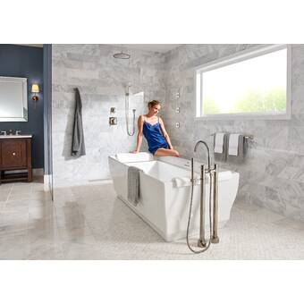 Polished Nickel Toto Ts211d Pn Keane Two Way Diverter Trim With Off Bathroom Fixtures Showers