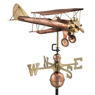 Broomsedge Bi Plane Weathervane Image