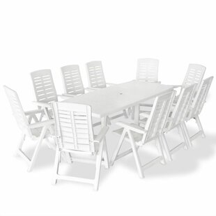Bartelt 10 Seater Dining Set By Sol 72 Outdoor