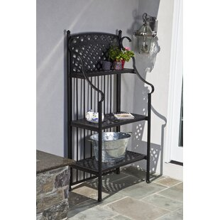 Alfresco Home Greenwich Aluminum Baker's Rack