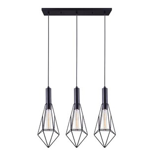 Ivy Bronx Filemyr 3-Light Kitchen Island Pendant