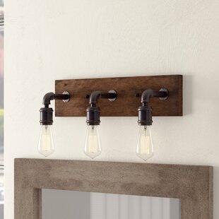 Best Deals Davidson 3-Light Vanity Light By Trent Austin Design