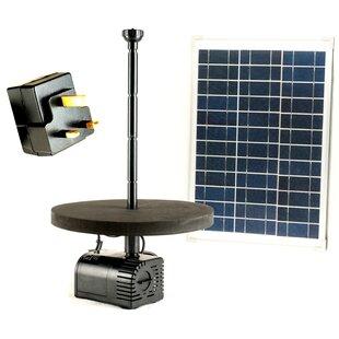 Sale Price Acrylic Solar Pond Fountain Pump
