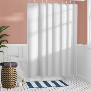 Santalaris Fabric Single Shower Curtain Liner