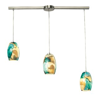 Adalheid 3-Light Cluster Pendant by Bloomsbury Market