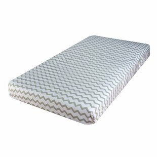 Bargain Chevron and Polka Dot 2 Piece Fitted Crib Sheet Set ByEly's & Co.