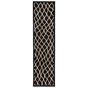 Bogard Hand-Tufted Charcoal Indoor/Outdoor Area Rug