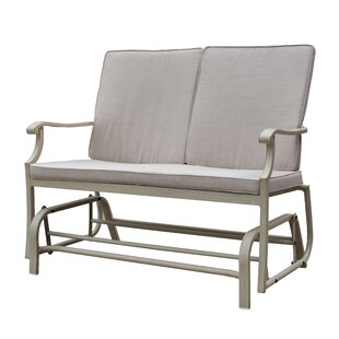 Caressa Aluminum Outdoor Double Glider Bench