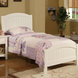 Harriet Bee Concord Dreamy Wooden Transitional Twin Panel Bed