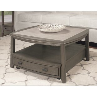 Dunhill Coffee Table With Storage by Breakwater Bay Best #1