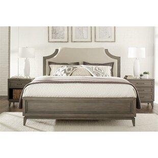 Gracie Oaks Workman Upholstered Panel Bed