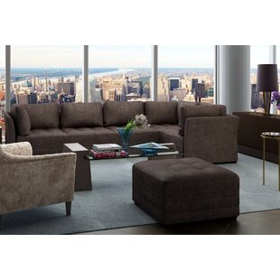 Frampton Reversible Modular Sectional with Ottoman