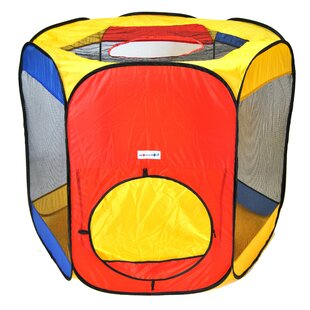 Six Sided Pop-Up Play Tent With Carrying Bag By EWonderWorld