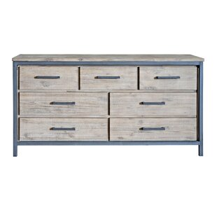 Union Rustic Mitt 7 Drawer Dresser
