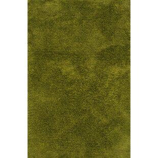 Albritton Hand Made Green Area Rug