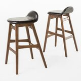 Adriana 30 Bar Stool (Set of 2) by Langley Street®