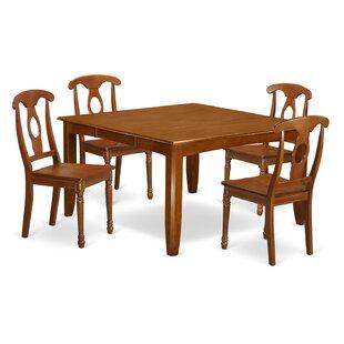 Parfait 5 Piece Extendable Dining Set by Wooden Importers