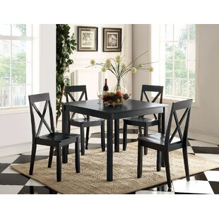 Blaisdell 5 Piece Counter Height Dining Set by Gracie Oaks