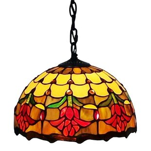 Amora Lighting 1-Light Bowl Pendant