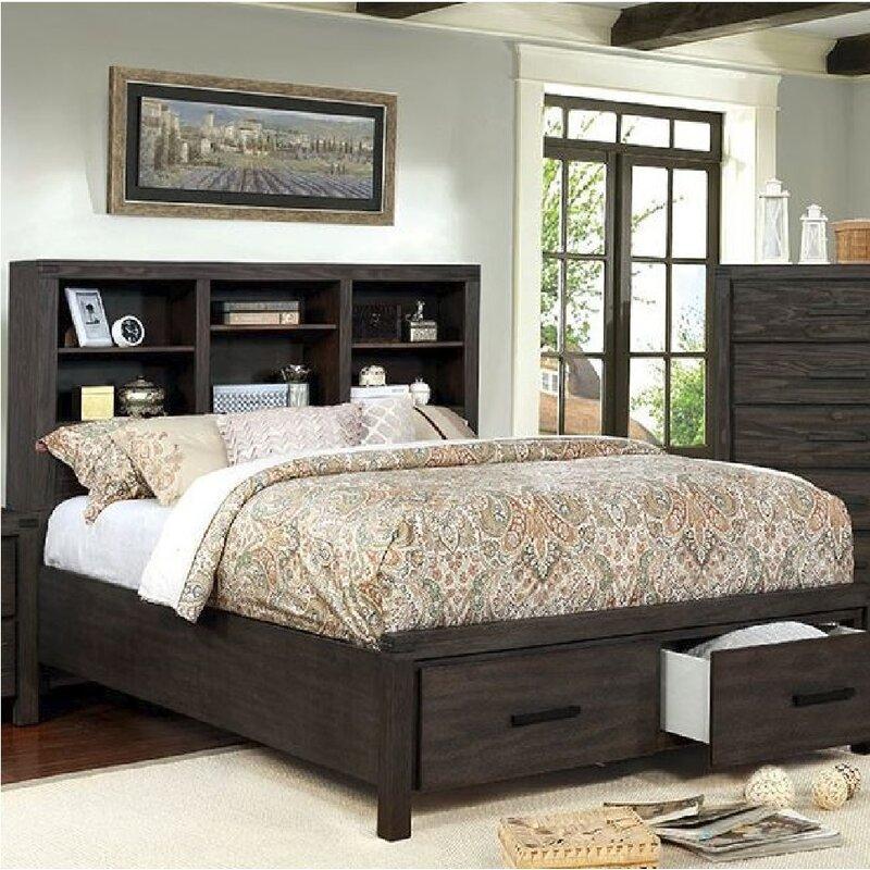 Gracie Oaks Mathias Storage Platform Bed Wayfair