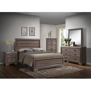 Westover Queen Panel 5 Piece Bedroom Set by Gracie Oaks