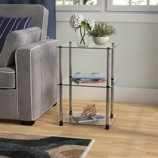 Beckett Three Tier Metal Base End Table by Ebern Designs