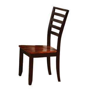 Side Chair in Brown (Set of 2)