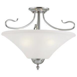 Thomas Lighting Elipse 3-Light Bowl Pendant