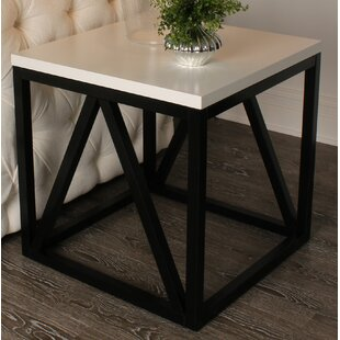 Looking for Dunstan Wood Cube End Table By Gracie Oaks