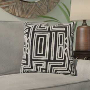 Haysville Mesmerizing Maze Throw Pillow