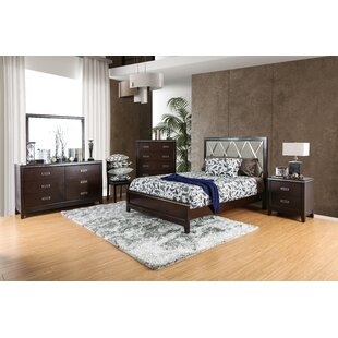 Lonny Contemporary Panel 4 Piece Configurable Bedroom Set by Latitude Run