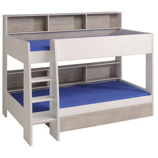 Depuy Twin over Twin Bunk Bed with Mattress by Zoomie Kids