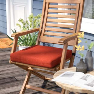 Solid Indoor/Outdoor Patio Chair Cushion