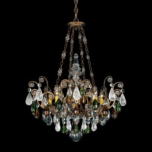 Schonbek Renaissance Rock 8-Light Chandelier