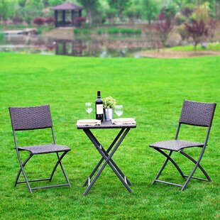 Khorn 3 Piece Bistro Set