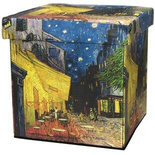 Van Gogh Storage Ottoman b..