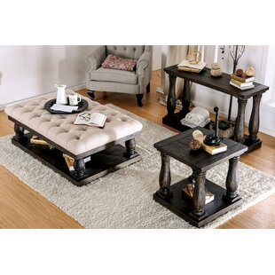 Alcott Hill Althea 3 Piece Coffee Table Set
