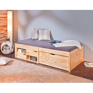 Rosamund European Single Storage Bed By Gracie Oaks