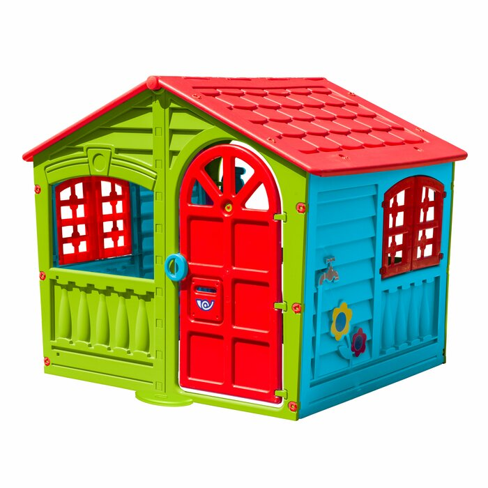 Step2 Neat Tidy Cottage Playhouse Kids Outdoor Pretend play Center Fun Games New