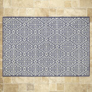Ballenger Navy Indoor/Outdoor Area Rug