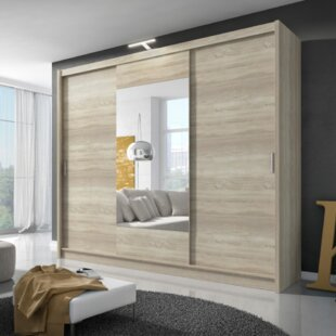 Patti Alu 3 Door Sliding Wardrobe By Selsey Living