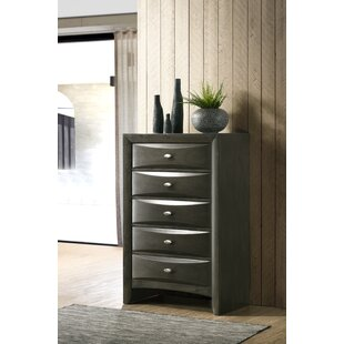 Carle 5 Drawer Chest