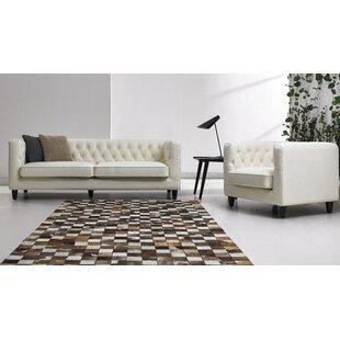 David Divani Designs 2 Piece Leather Livi..