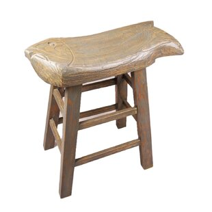 Caleigh Chinese Oriental Stool By Union Rustic
