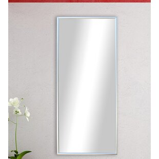 Polished Silver Floor Mirror ByDarby Home Co