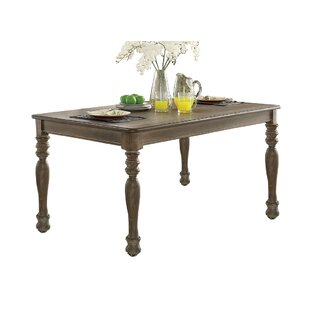 Canora Grey Suzan Solid Wood Dining Table