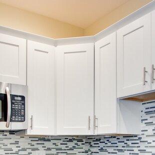 white kitchen corner cabinet wayfair