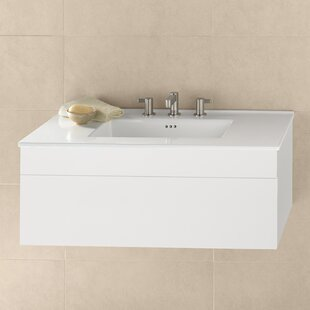 Rebecca 37 Wall-Mounted Single Bathroom Vanity Set by Ronbow